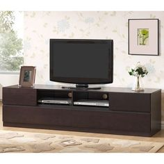 Shop for LOVATO Dark Brown TV Cabinet. Get free shipping at Overstock.com - Your Online Furniture Outlet Store! Get 5% in rewards with Club O!