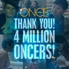 4 million and growing! Thanks, Oncers!