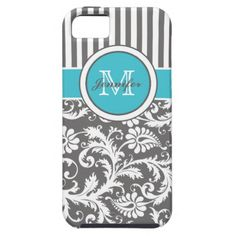 =>>Cheap          Monogram Aqua Gray White Striped Damask iPhone 5 Covers           Monogram Aqua Gray White Striped Damask iPhone 5 Covers in each seller & make purchase online for cheap. Choose the best price and best promotion as you thing Secure Checkout you can trust Buy bestReview      ...Cleck Hot Deals >>> http://www.zazzle.com/monogram_aqua_gray_white_striped_damask_case-179184290722805097?rf=238627982471231924&zbar=1&tc=terrest