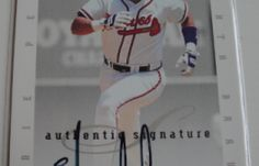 I will Sell my AUTO 1996 Eddie Perez Donruss for $6.00