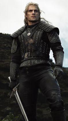 The Witcher Netflix Series Geralt Henry Cavill Wallpaper The Witcher Game, The Witcher Geralt, Witcher Art, The Witcher Wallpapers, The Witchers, Foto Portrait, Image Film, Ange Demon, Web Series