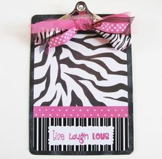 Have you ever seen such an adorable clipboard? One lucky reader is going to win this Zebra and Hot Pink Live Laugh Love Designer Clipboard . Pink Live, Discount Bedroom Furniture, Jewelry Chest, Pink Zebra, Boutique Design, Classroom Decor, Classroom Board, Classroom Tools, Zebra Print