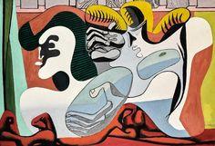 Le Corbusier – Deux femmes à la draperie rouge, 1935