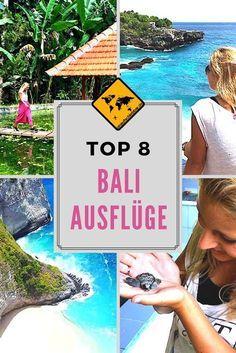 Wenn du auf Bali bist, gibt es viele Möglichkeiten, um die Insel besser kennenzulernen. Die besten 8 Ausflüge haben wir für dich zusammengefasst. Erfahre mehr, in dem du aufs Bild klickst. #Bali #Ausflüge #AusflügeaufBali #BaliTouren
