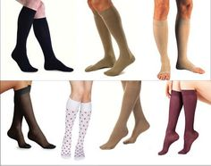 Compression Stocking for Men and Women. Graduated compression stockings improve circulation, give you more energy and prevent Deep Vein Thrombosis.