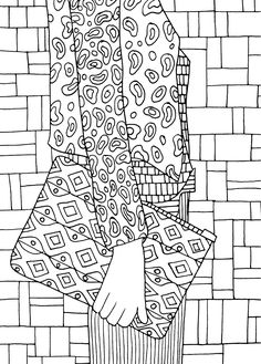 309 Best Fashion Coloring Pages For Adults Images Adult Coloring