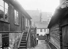 Snekkergangen Hammersborg 1915
