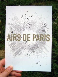 air de paris - air de paris / centre pompidou - graphic design - Frédéric Teschner Studio: