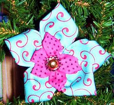 Ribbon Flower Ornament