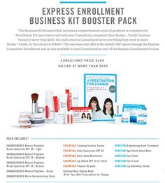 CONSULTANT ENROLLMENT KITS R+F Consultant Express Enrollment Business Kit Booster Pack