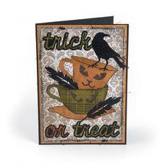 Trick or Treat Card #6 Halloween Tags, Halloween Drinks, Vintage Halloween, Fall Halloween, Halloween Decorations, Halloween Ideas, Halloween Queen, Halloween Stuff, Disney Scrapbook