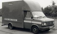RAF Ford Transit Luton van British Armed Forces, Van Car, Air Force Aircraft, Ford Transit, Royal Air Force, British Army, Commonwealth, Ford Trucks, Coaches