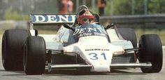 1981 Piercarlo Ghinzani Osella FA1B-Cosworth