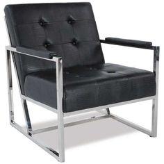 Jaxon Metal Accent Chair