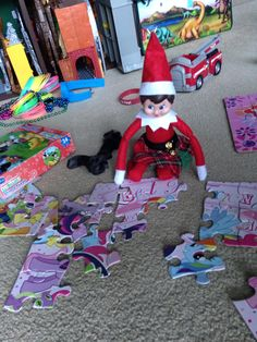 Elf JB the shelf