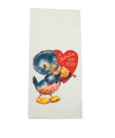Love this Valentine Ducks Kitchen Towel by Love you a Latte on #zulily! #zulilyfinds