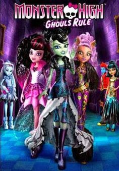 @Overstock - The fabulously flawed students of Monster High : Frankie Stein, Draculaura, Clawdeen Wolf, Cleo de Nile, Abbey Bominable, Jackson Jeckyll/Holt Hyde, Operetta and Deuce Gorgonhttp://www.overstock.com/Books-Movies-Music-Games/Monster-High-Ghouls-Rule-DVD/6837025/product.html?CID=214117 $14.81