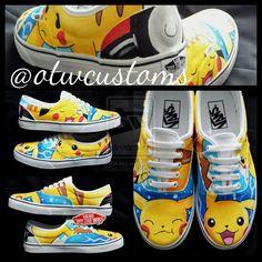 Pix For > Pokemon Shoes Converse