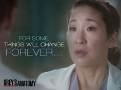 For some things will change forever...  #GreysAnatomy
