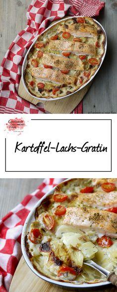 Kartoffel-Lachs-Gratin | Rezept | Kochen | Essen