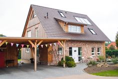 Wietzendorf von There are many things that can easily lastly full your yard, Pergola, Gazebo, Villa Design, Steep Gardens, Timber Roof, Real Wood, Modern Design, Outdoor Structures, Patio