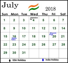 2018 calendar india download calendar download india