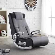 X Rocker II Wireless Video Game Chair / A new world of interactive audio experience is finally here, thanks to X Rocker II Wireless Video Game Chair. http://thegadgetflow.com/portfolio/x-rocker-ii-wireless-video-game-chair/