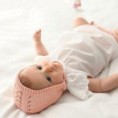Patron tricot : un béguin pour bébé