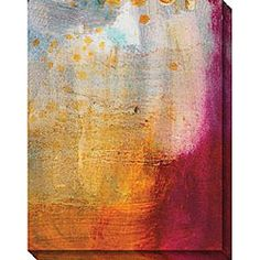 Sylvia Angeli 'Abstracted Fruit XII' Canvas Art 40x32 - $120