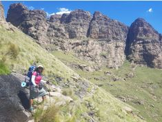 Meet skirt girl hiker Lerato Monyatsi: Don't let anything hold you back from doing what you love - Meet My Mzansi Your Back, Hold You, My Character, South Africa, Grand Canyon, Meet, Let It Be, Skirt, Places