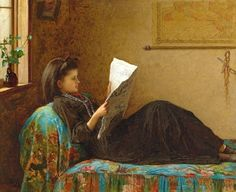 It's About Time: 18C - 20C Women Reading Newspapers
