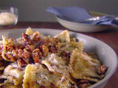 Ravioli with Balsamic Brown Butter Recipe | Giada De Laurentiis | Food Network