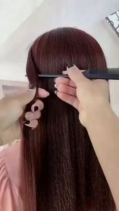 Hairstyles for long hair Video tutorial Super Easy Hairstyles, Easy Hairstyles For Long Hair, Cute Hairstyles, Wedding Hairstyles, Hairstyles Videos, Long Straight Hairstyles, No Heat Hairstyles, Casual Hairstyles, Party Hairstyles