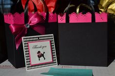Paris party favor bags for any occasion by SandysCandyBags on Etsy