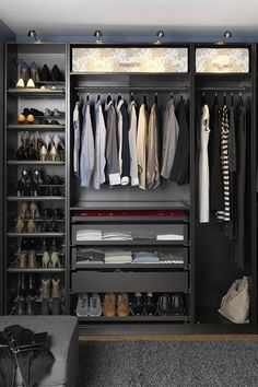 Discover a selection of interior design inspiration with some of the best walk-in closets