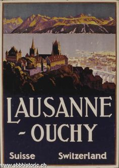 Lausanne-Ouchy - Lausanne-Ouchy Suisse Switzerland -