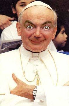25 Funny Mr Bean Pictures Photo Manipulation with Celebrity Pictures Mr Bean Quotes, Mr Bean Memes, Mr Bean Funny, Mr Bean Photoshop, Funny Photoshop, Mr Bean Drôle, Beans Image, New Pope, Rowan