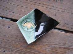 Ceramic Ring Dish  Ceramics and Pottery  Eye Art  by WhiteCitrus
