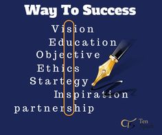 Way To Success...!!!! #ThoughtOftheDay  www.tenspark.com