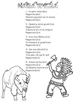 Nagawicka. Paroles chansons. Maternelle
