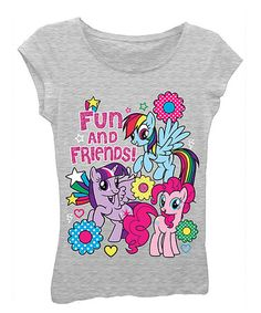Another great find on #zulily! 'Fun and Friends' Tee - Girls by My Little Pony #zulilyfinds