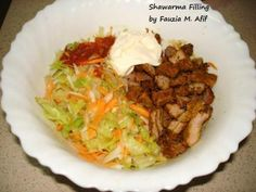 Shawarmas are a family favourite. I personally prefer making the easier chicken shawarmas (recipe HERE) but at times we opt for the tastier beef ones. Healthy Ramadan Recipes, Healthy Steak Recipes, Halal Recipes, Easy Delicious Recipes, Grilling Recipes, Beef Recipes, Chicken And Beef Recipe, Chicken Steak, Easy Chicken Curry