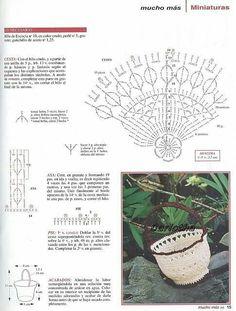 Crochet Vase, Diy Crochet Basket, Crochet Crafts, Crochet Flowers, Crochet Projects, Free Crochet, Sewing Patterns, Crochet Patterns, Bottle Cap Art