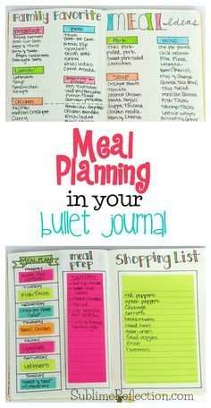 Come see how I use my  Bullet Journal to make meal planning even easier!  I'm also sharing my other favorite free meal planning tool and app! via /kimberlyjob/