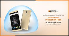 A new #phone deserves a brand new protection plan. #extendedwarranty
