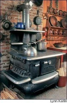 Amazing wood stove.