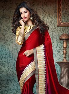 Elegant Soft Silk Saree #Designer #Sari by Art Décor Fashion Pvt. Ltd.  Indian Women Ethnic, Mark your presence without saying a word #Designer #Sari #Online #Saree #indian wedding #fashion #style #bride #bridal #party #brides maids#gorgeous #vibrant #elegant #blouse #choli #jewelry #bangles #lehenga #desistyle #shaadi#designer #outfit #inspired #beautiful #must-have's #india #bollywood#south asain #pinterest #Exclusively.com #Dance #Fashionable #Zari #Work #Bollywood #Exclusive…
