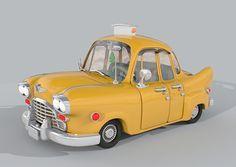 New York Checker Taxi