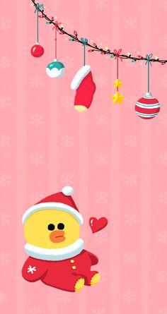 sally line friends christmas