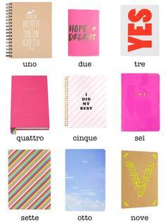 Original notebooks - Paperchase Ban.dō Kate Spade John Lewis Mr. Wonderful